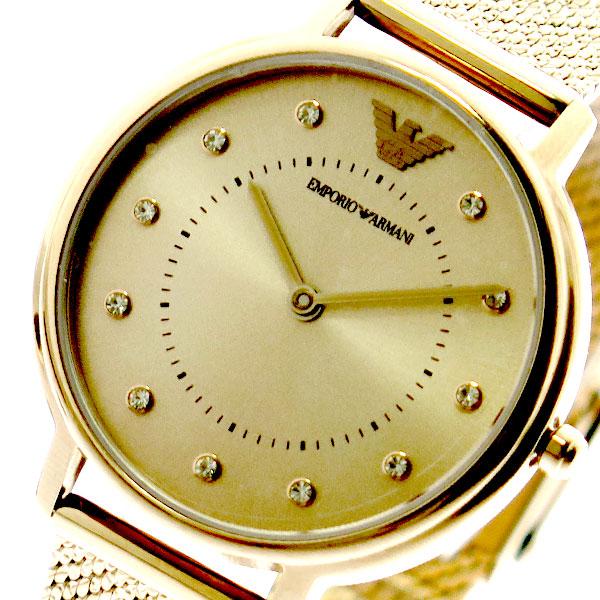 エンポリオアルマーニ EMPORIO ARMANI 腕時計 レディース AR11129 クォーツ ピンクゴールド ピンクゴールド【送料無料】