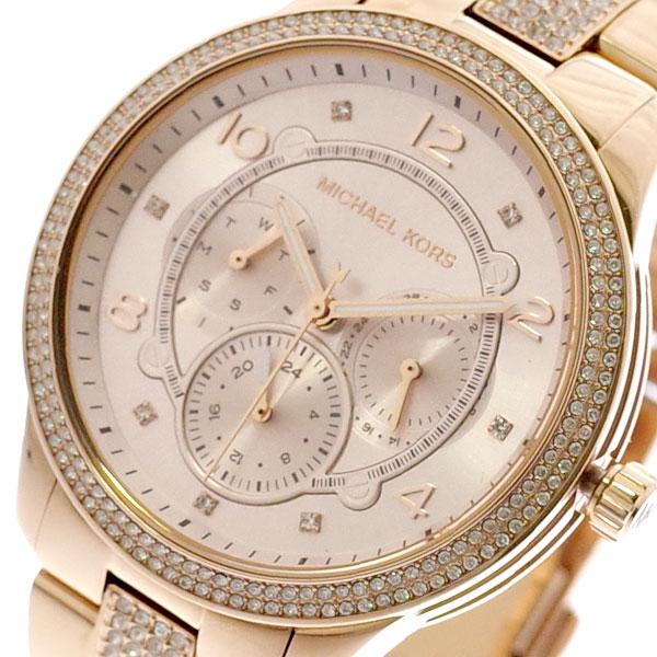 マイケルコース MICHAEL KORS 腕時計 レディース MK6614 クォーツ ピンクゴールド ピンクゴールド【送料無料】