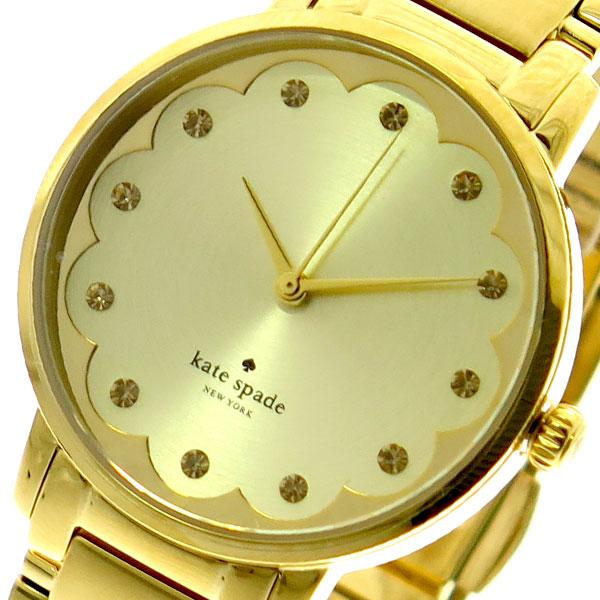 ケイトスペード KATE SPADE 腕時計 レディース KSW1047 クォーツ ゴールド ゴールド【送料無料】