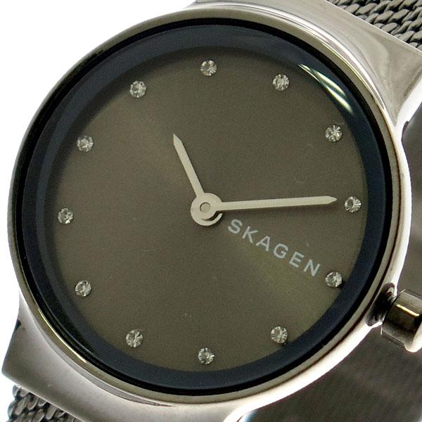 スカーゲン SKAGEN 腕時計 レディース SKW2700 クォーツ グレー ガンメタ ガンメタ
