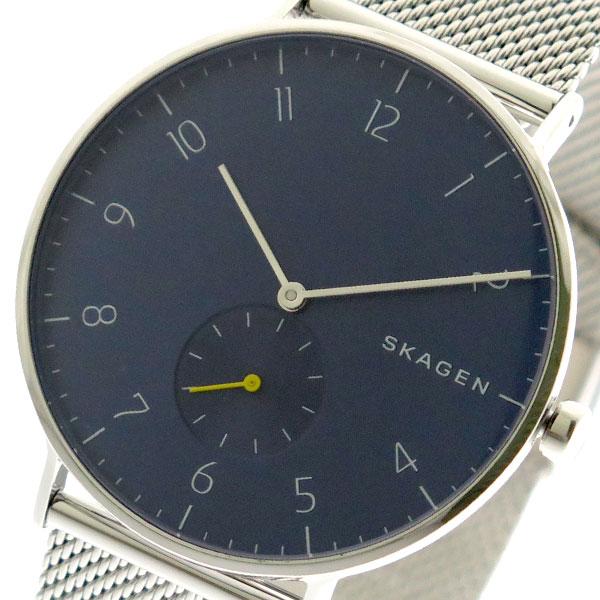 スカーゲン SKAGEN 腕時計 メンズ SKW6468 クォーツ ネイビー シルバー ネイビー【送料無料】