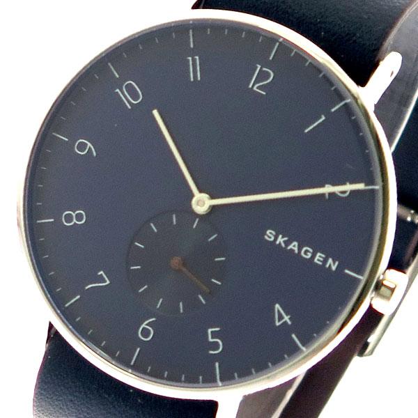 スカーゲン SKAGEN 腕時計 メンズ レディース SKW6478 クォーツ ネイビー ブラック【送料無料】