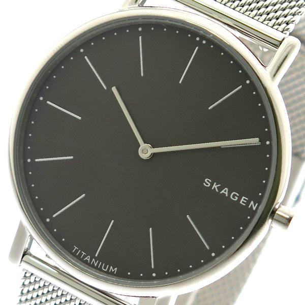 スカーゲン SKAGEN 腕時計 メンズ レディース SKW6483 クォーツ グレー シルバー ブラック【送料無料】