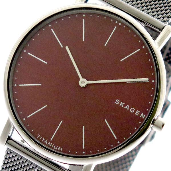 スカーゲン SKAGEN 腕時計 メンズ レディース SKW6485 クォーツ レッド シルバー レッド【送料無料】