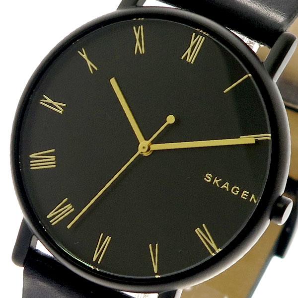 スカーゲン SKAGEN 腕時計 メンズ レディース SKW6489 クォーツ ブラック ブラック【送料無料】