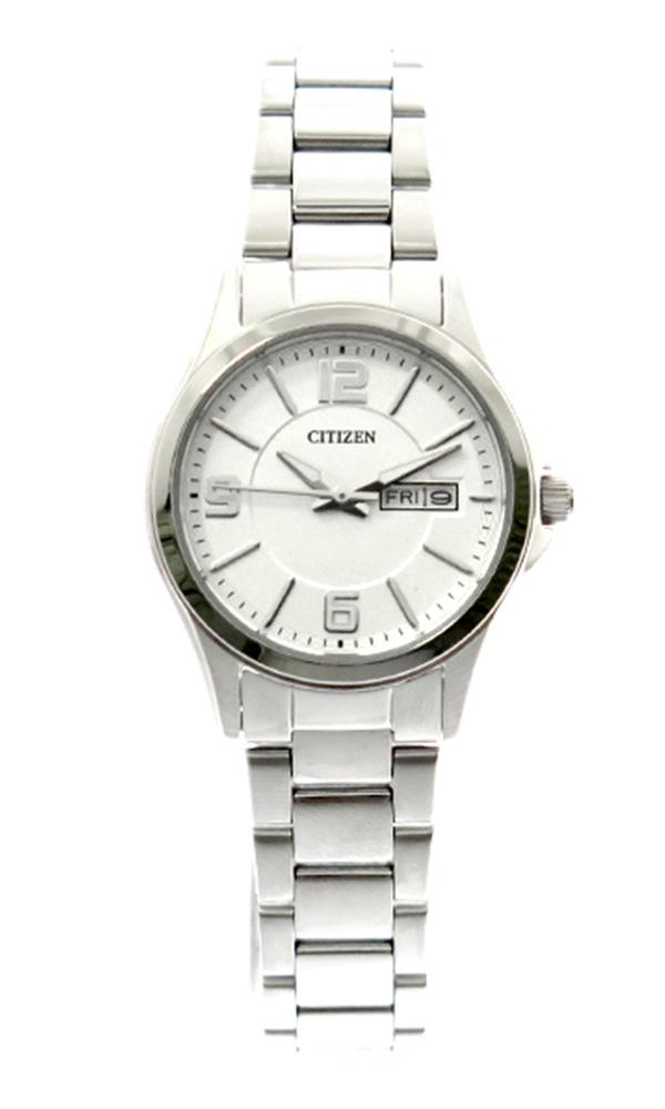 シチズン CITIZEN 腕時計 レディース EQ0591-56A クォーツ シルバー シルバー【ポイント10倍】