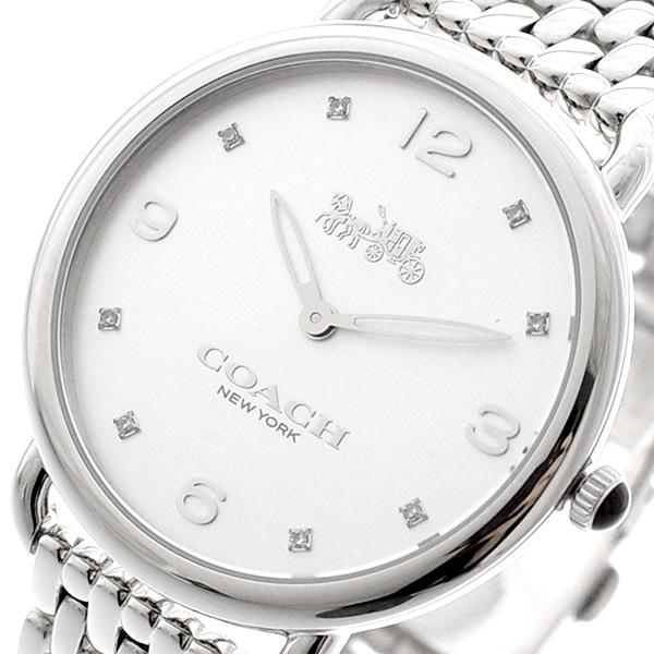 コーチ COACH 腕時計 レディース 14502785 デランシースリム クォーツ シルバー シルバー【送料無料】