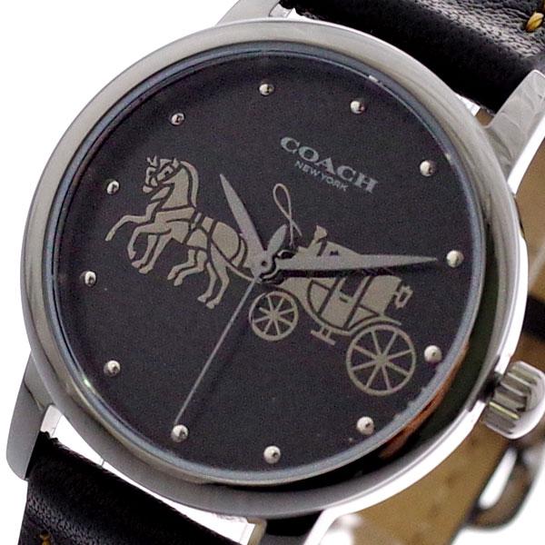 コーチ COACH 腕時計 レディース 14502979 グランド クォーツ ブラック ブラック【送料無料】