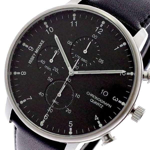 イッセイミヤケ ISSEY MIYAKE 腕時計 メンズ NYAD003 C シー クォーツ ブラック ブラック【送料無料】