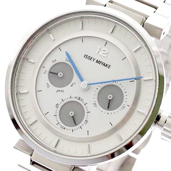 イッセイミヤケ ISSEY MIYAKE 腕時計 メンズ レディース SILAAB01 W-Mini ダブリュ ミニ 和田智 Satoshi Wada クォーツ ホワイト シルバー ホワイト【送料無料】