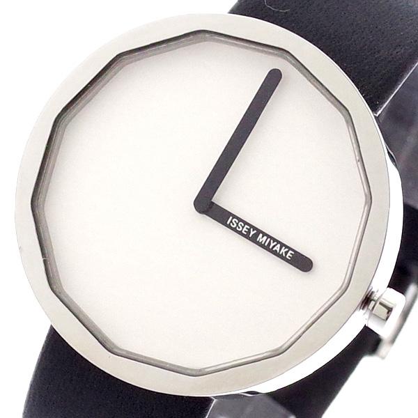 イッセイミヤケ ISSEY MIYAKE 腕時計 メンズ レディース SILAP001 トゥエルブ TWELVE 深澤直人デザインモデル クォーツ ホワイト ブラック ホワイト【送料無料】