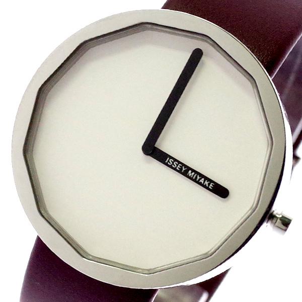 イッセイミヤケ ISSEY MIYAKE 腕時計 メンズ レディース SILAP016 トゥエルブ TWELVE 深澤直人デザインモデル クォーツ ホワイト ブラウン ホワイト【送料無料】