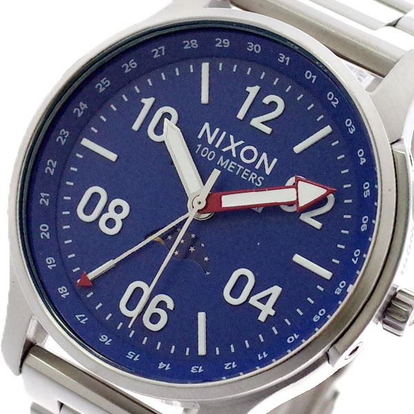 ニクソン NIXON 腕時計 メンズ A1208722 ASCENDER クォーツ ネイビー シルバー ネイビー【送料無料】