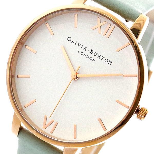 オリビアバートン OLIVIA BURTON 腕時計 レディース OB16BDW36 クォーツ ホワイト セージ ライトグリーン セージ【送料無料】