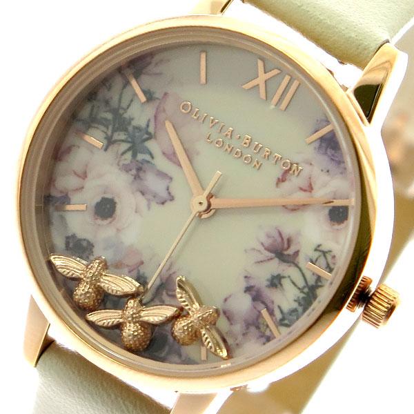 オリビアバートン OLIVIA BURTON 腕時計 レディース OB16CH13 クォーツ オフホワイト オフホワイト【送料無料】