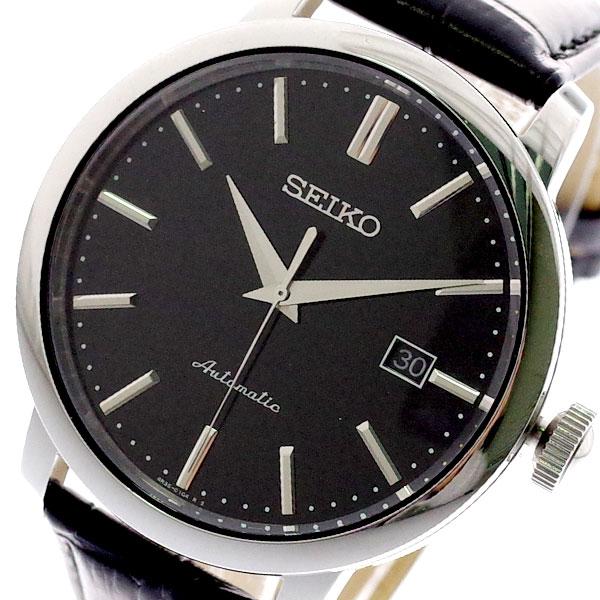 セイコー SEIKO 腕時計 メンズ SRPA27K 自動巻き ブラック ブラック【送料無料】