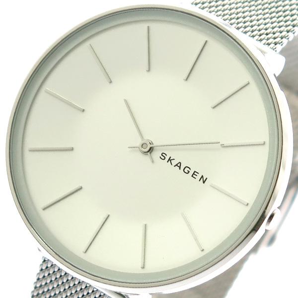 スカーゲン SKAGEN 腕時計 メンズ レディース SKW2687 KAROLINA クォーツ シルバー シルバー【送料無料】