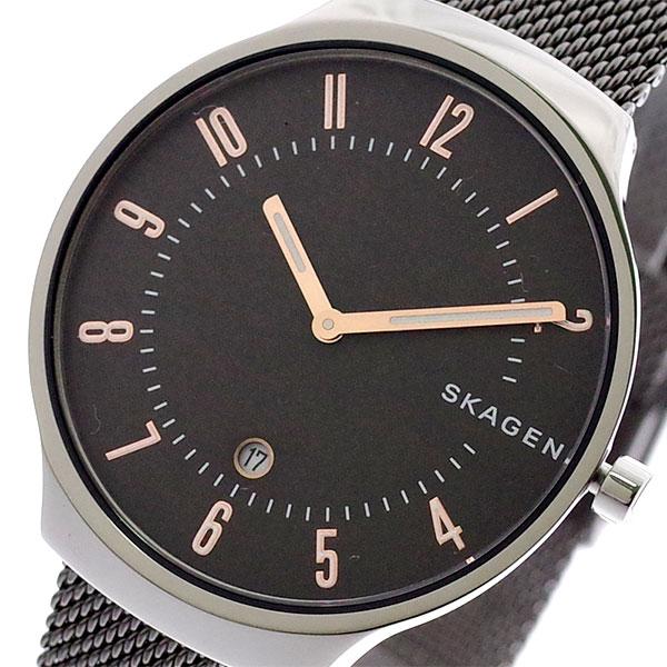 スカーゲン SKAGEN 腕時計 メンズ レディース SKW6460 GRENEN クォーツ グレー ガンメタ グレー【送料無料】