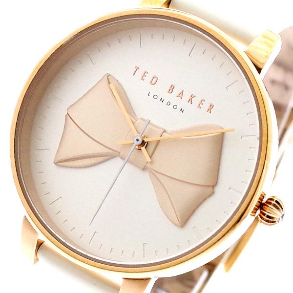 テッドベーカー TED BAKER 腕時計 レディース TEC0185005 クォーツ ホワイト ホワイト【送料無料】