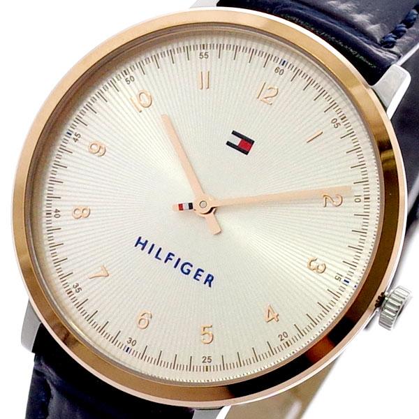 トミーヒルフィガー TOMMY HILFIGER 腕時計 メンズ レディース 1781764 クォーツ ピンクゴールド ネイビー ネイビー【送料無料】