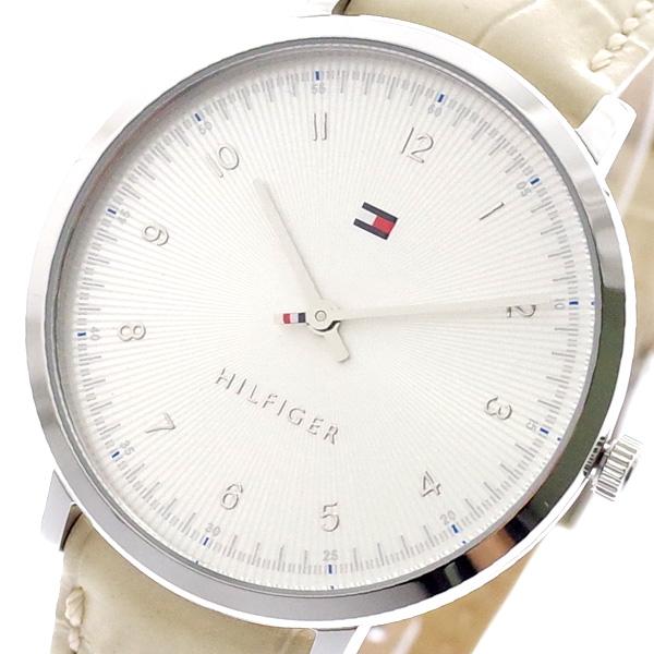 トミーヒルフィガー TOMMY HILFIGER 腕時計 メンズ レディース 1781765 クォーツ シルバー ライトベージュ ライトベージュ【送料無料】