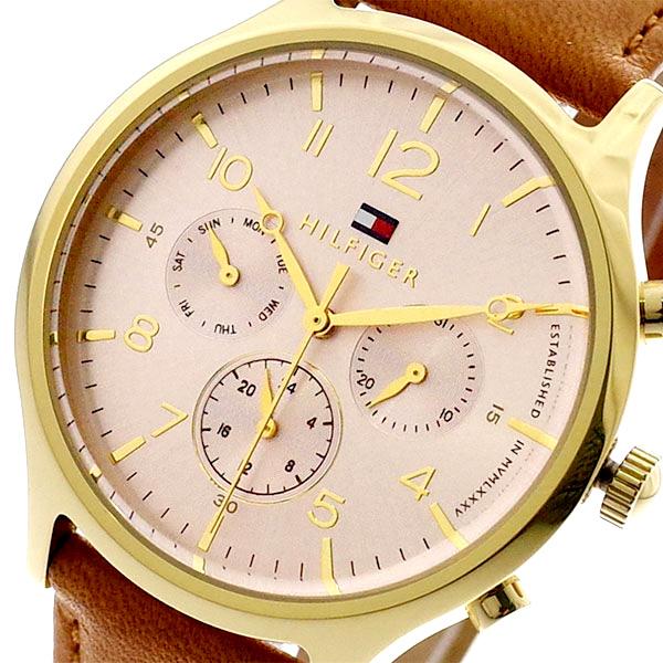 トミーヒルフィガー TOMMY HILFIGER 腕時計 レディース 1781875 クォーツ ピンクゴールド ブラウン ブラウン【送料無料】