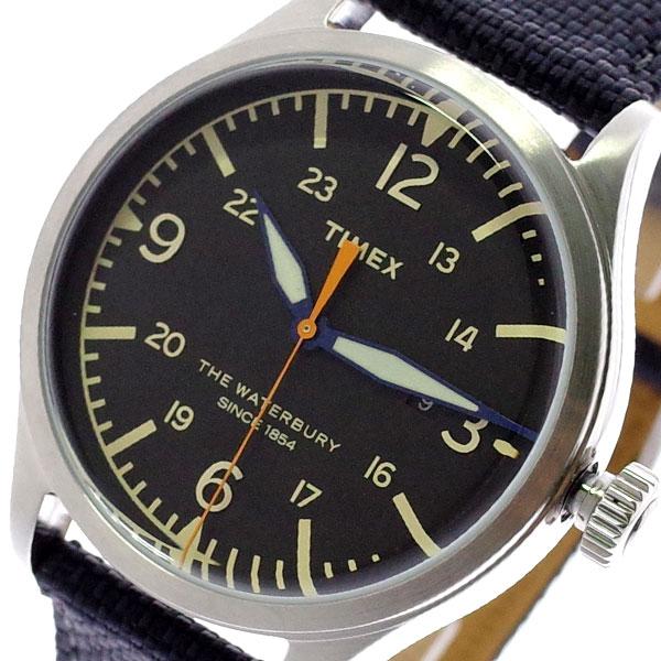 タイメックス TIMEX 腕時計 メンズ TW2R38500 クォーツ ブラック ブラック【送料無料】