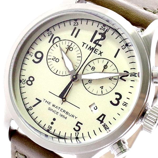 タイメックス TIMEX 腕時計 メンズ TW2R70800 クォーツ クリーム オリーブ クリーム【送料無料】