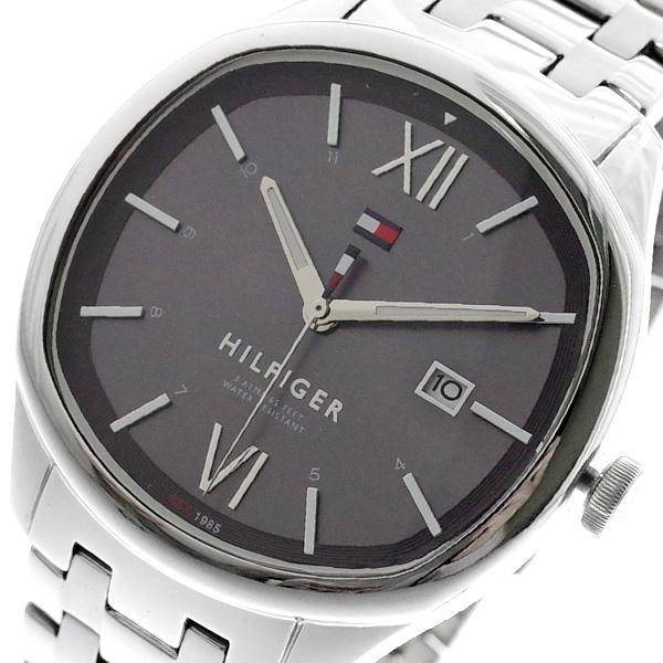 トミーヒルフィガー TOMMY HILFIGER 腕時計 メンズ 1710363 クォーツ グレー シルバー グレー【送料無料】