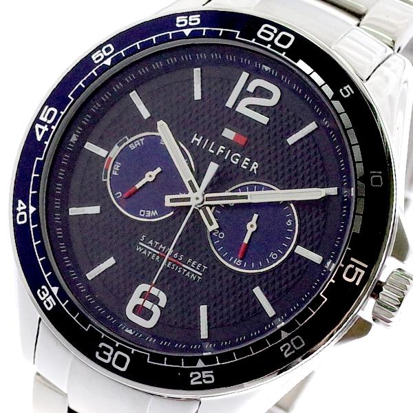 トミーヒルフィガー TOMMY HILFIGER 腕時計 メンズ 1791366 クォーツ ネイビー シルバー ネイビー【送料無料】