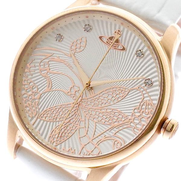 ヴィヴィアンウエストウッド VIVIENNE WESTWOOD 腕時計 レディース VV197RSWH クォーツ ホワイト ホワイト【送料無料】