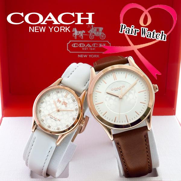 【ペアウォッチ】コーチ COACH クオーツ 腕時計 14000053 シルバー シルバー【送料無料】【ポイント10倍】