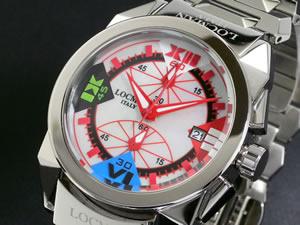 LOCMAN ロックマン 腕時計 ミディアム 161 CR MOP-赤【送料無料】【ポイント10倍】