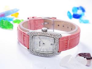 Folli Follieフォリフォリ 腕時計 レディース S922ZI SV/PK【送料無料】
