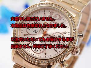 Folli Follieフォリフォリ 腕時計 クロノ ジルコニア WF0B026BCG【送料無料】