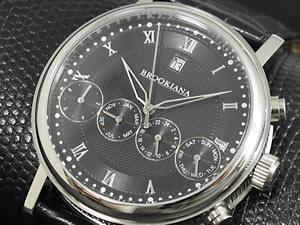 信頼 ブルッキアーナ BROOKIANA 腕時計 自動巻き BA1664-BK【送料無料】, りんごClub 961afc36