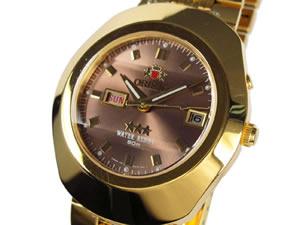 絶妙なデザイン オリエント ORIENT 腕時計 自動巻き メンズ CEM70001TG【送料無料】, SHELTER aa9bc3fc
