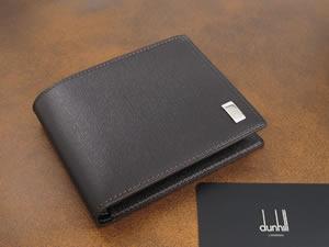 DUNHILL ダンヒル サイドカー 二つ折り財布 FP3070E