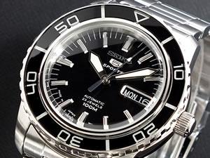セイコー 5 SEIKO ファイブ スポーツ 腕時計 自動巻き SNZH55J1