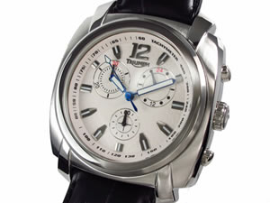 【日本限定モデル】 TRIUMPH トライアンフ 腕時計 メンズ クロノグラフ 3054-02【送料無料】, シママキグン 125143df
