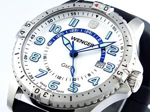ウェンガー WENGER スクアドロン ジーエムティー 腕時計 77070【送料無料】【ポイント10倍】