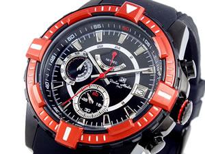 【現品限り一斉値下げ!】 ドルチェメディオ DOLCE MEDIO 腕時計 クロノグラフ メンズ DM11209-IPBKRDN, ナカイ製菓 53a29ddb