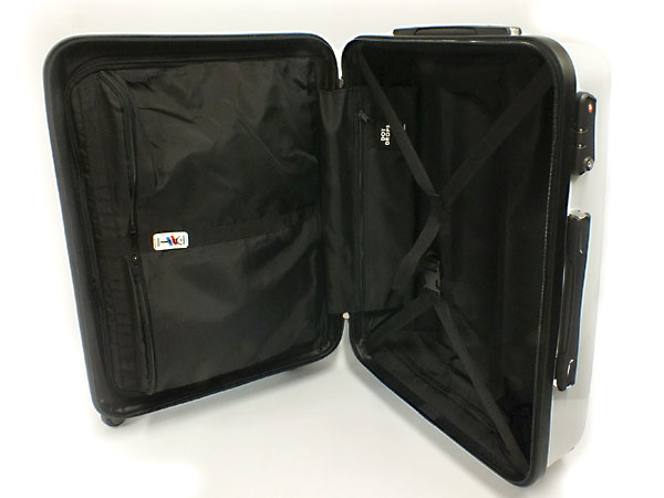 ドットドロップス DOT DROPS スーツケース 12125PCK WHITE ホワイト 送料無料ZOXiwPkuT