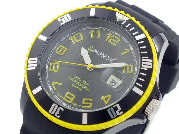 アバランチ AVALANCHE メンズ 腕時計 時計 AV 1019S BKY 44IYgvm76bfy