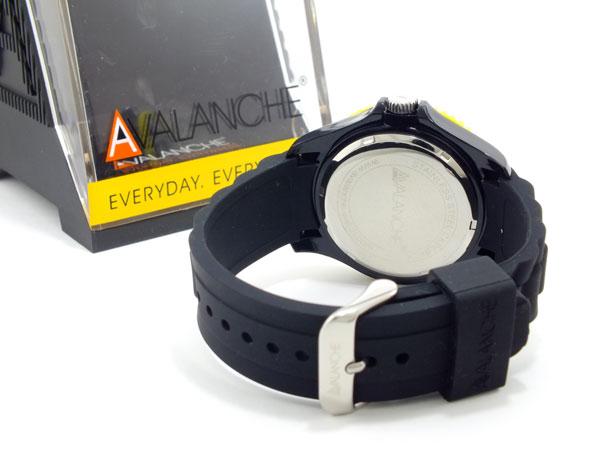 アバランチ AVALANCHE メンズ 腕時計 時計 AV 1019S BKY 44OZwkiuTPX