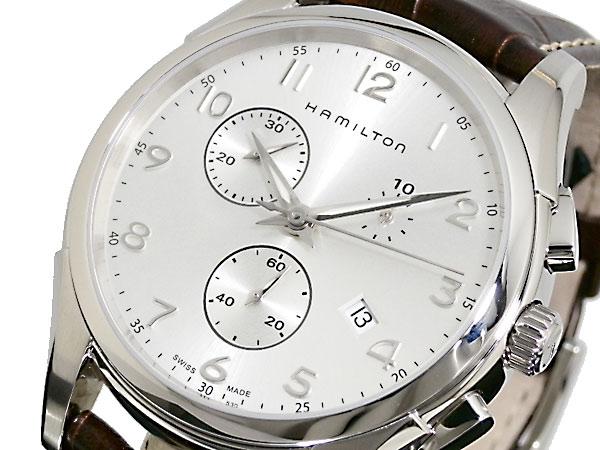 ハミルトン HAMILTON ジャズマスター JAZZMASTER クロノ 腕時計 H38612553【送料無料】