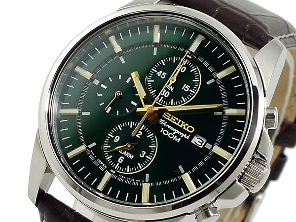 セイコー SEIKO クロノグラフ 腕時計 時計 SNAF09P1