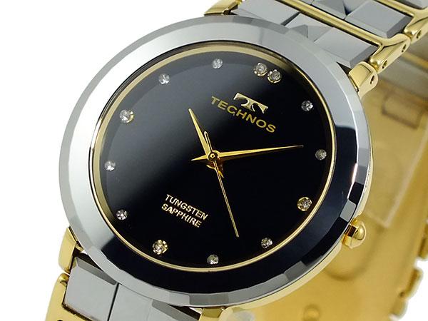 独特な店 テクノス TECHNOS レディース 腕時計 時計 T9191GB ブラック, 景品探し隊 幹事さんお助け倶楽部 7a9ae71a