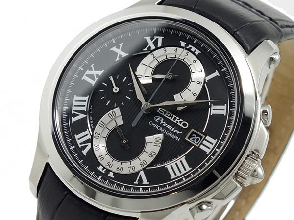 セイコー SEIKO プルミエ PREMIER クロノグラフ 腕時計 SPC067P2【送料無料】