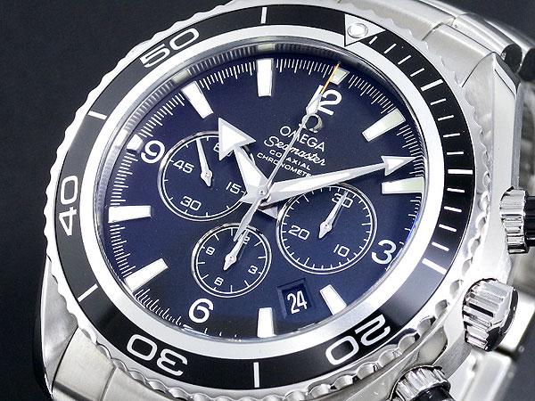 オメガ OMEGA シーマスター プラネットオーシャン クロノ 自動巻き 腕時計 2210-50【送料無料】【ポイント10倍】